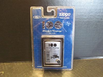 Zippo Lighter  Ford Motor Company 100 Years Centennial 2.25""