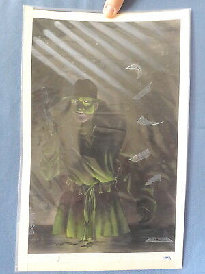 Original Comic Cover Art - Matt Wagner -  '89 - Painting - Signed - Great Image!