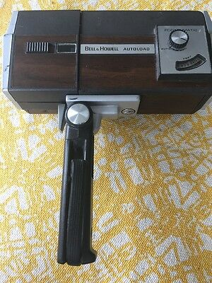 Vintage Bell & Howell Rare Camcorder Autoload Film O Sound 8 Movie Camcorder