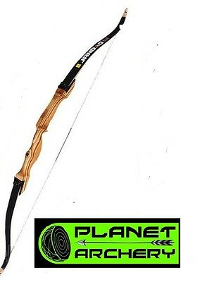 """Jandao wooden take down recurve bow right hand 62"""" 24# Samick SF Archery"""