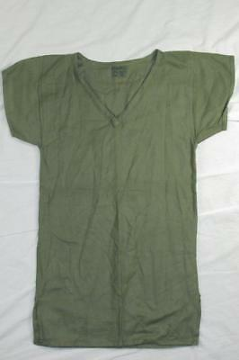 Vtg NOS 50s 1954 Dated British Military Ventilated Shirt Green Mesh Army RARE!