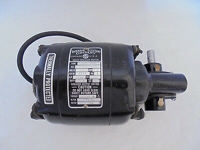 Bodine Electric Company NSI-33R Works Great 1/20HP 1.7Amp 10:1 Ratio 11.9 Torque