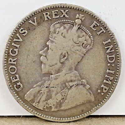 1911 Canada George V - 25 Cents Silver!