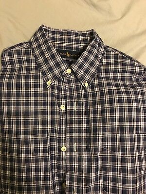 Polo By Ralph Lauren Multicolor Large Casual Button Down Long Sleeve Shirt Large