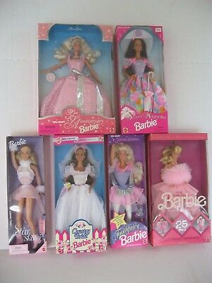 Barbie Wal-Mart Special Edition Dolls-Pink Jubilee-Tooth Fairy-Star Skater-New