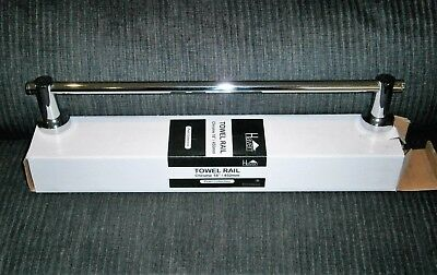 New Haven Pearl Collection 450Mm Single Towel Rail
