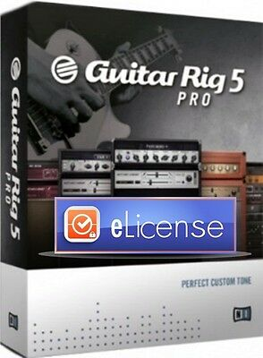 Native Instruments GUITAR RIG 5 PRO Production Suite Music 3PC -DigitaI-