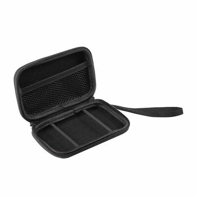 "Carry Case Cover Pouch Bag For 2.5"" HDD Hard Disk Black Nylon Compartments Case"