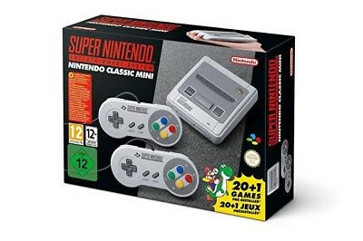 SNES Console Super Nintendo Mini Classic Preordered Brand New