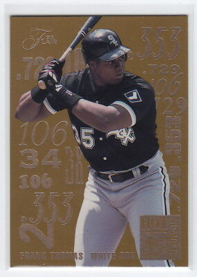 1995 Flair Hot Numbers #9 Frank Thomas