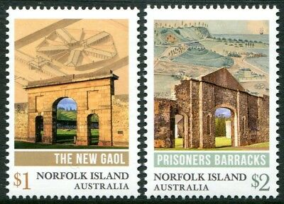 Convict Heritage 2017 - Mnh Set Of Two (Bl312)