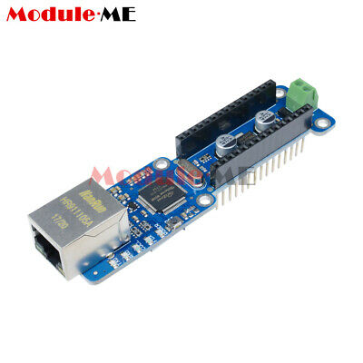 NANO W5100 Ethernet Shield Network Expansion Board For Arduino Nano V3.0 TOP UK