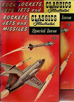 CLASSICS ILLUSTRATED Special #159A(Rockets, Jets, & Missiles):  free mail?