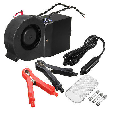 PTC 300W/500W Adjustable Car Vehicle Heater Hot Heating Fan Defroster Demister