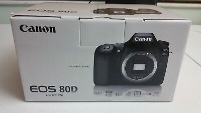 Canon EOS 80D 24.2 MP Built-In WiFi DSLR Camera (Body Only) + LENS