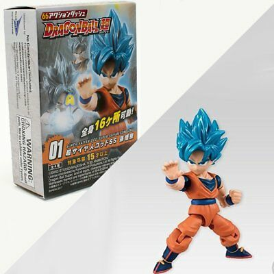 Son Goku SSJ God 66 ACTION Figure Dragon Ball Super Bandai Anime Figurine