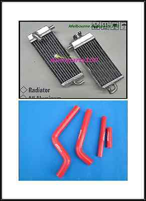 L&R ALUMINUM RADIATOR for YAMAHA YZ250 YZ 250 1996-2001 AND RED HOSE 97 98 99 00