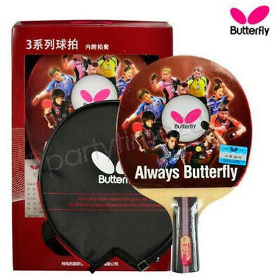 Genuine BUTTERFLY 3 Star Ping Pong Paddle Table Tennis Blade Factory Direct Sale