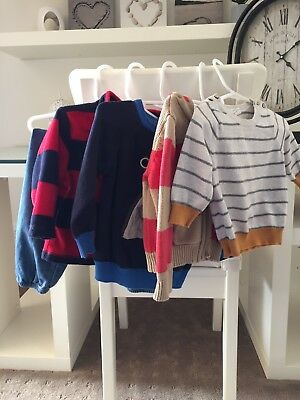 Baby Boys Clothes Size 6-12 (0 & 1) 5 Items Brands: Bonds,seed,sprout And More