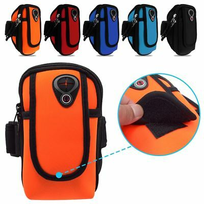 Sports Running Exercise Arm Band Pouch Case Zipper Bag For iPhone 6/6S/7 Useful