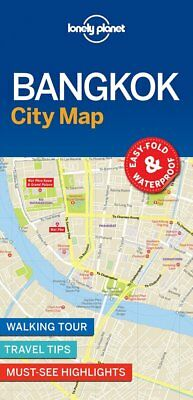 Lonely Planet Bangkok City Map (Lonely Planet City Map), Lonely Planet, New Book
