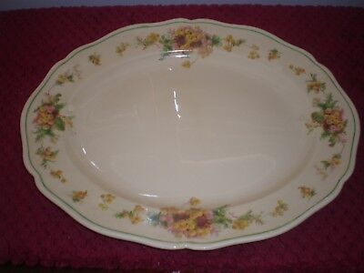 "Royal Doulton ""Wattle"" Large Platter D5156 c.1933"