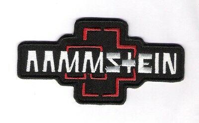 patch embroidered / écusson thermocollant Rammstein