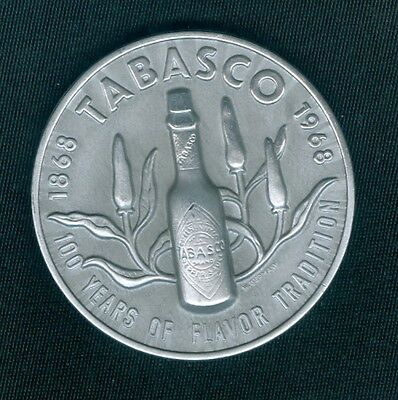 Tabasco Sauce 100th Anniversary Token, Advertising Doubloon