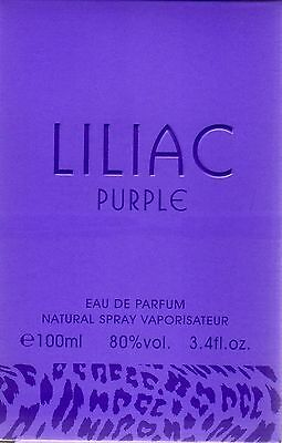LILIAC   PURPLE   Eau de Parfum Spray For Woman 100ml.