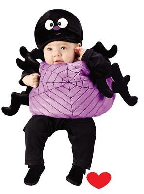 Baby Toddler Halloween Costume Fancy Dress Spider Spooky Plush Cute