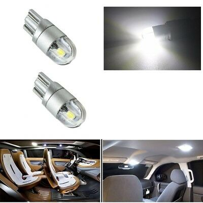 T10 Car W5W Lights 3030 COB LED Bulbs Canbus Wedge Interior Sidelight Error Free