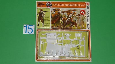 54 mm Airfix English Musketeer 1642 collectors seies #01560-0