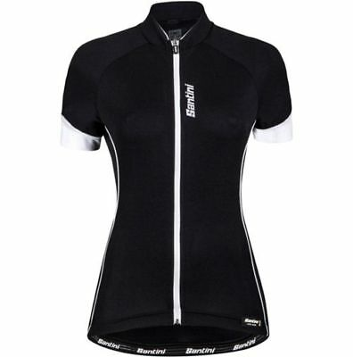 Santini Women's Ora Jersey XL BLACK