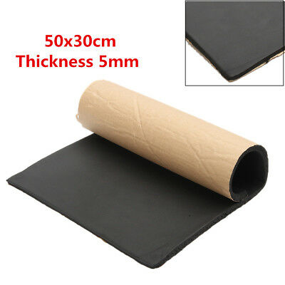 UK 5mm Car Sound-proofing Deadening Insulation Foam Mat Acoustic Pad 20''x12''