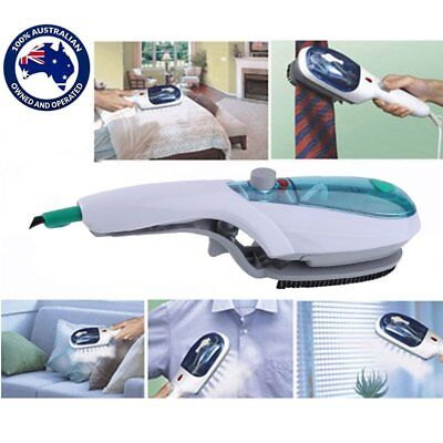 Au Steam Brush Iron Travel Handheld Portable Clothes Steamer Garment Brush By