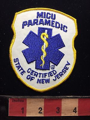 MICU State Of New Jersey Certified Patch 74K7