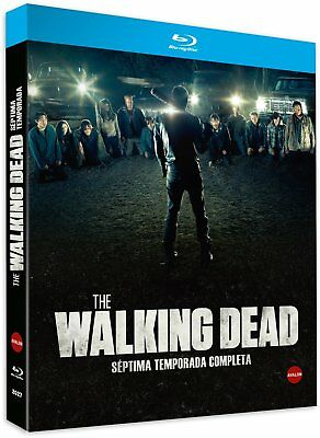 """the Walking Dead 7ª Temporada""  Precintada Blu Ray Castellano"