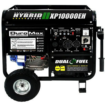 Generator Gas Propane Electricity Standby Portable Generators Powered Gasoline
