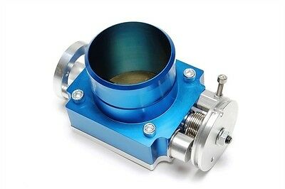 TA TECHNIX Butterfly Valve 2 3/4In, Blue Anodized, Universal, Throttle-body