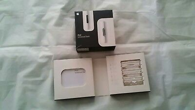 Apple iPod Universal Dock Adapter 6-Pack  NEW  (White)  New & Sealed