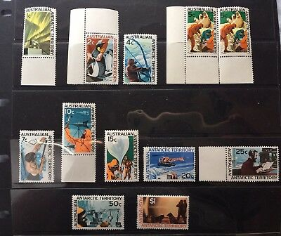 1966 - 1967 Aat Definitives Set To $1 Mock Sun Muh