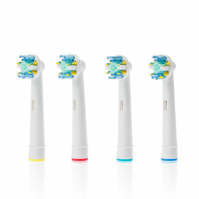 4x  Replacement Brush Heads Electric Toothbrush for oral B Braun Precision Clean