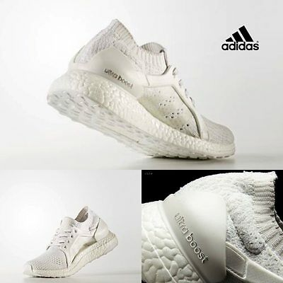 more photos 05313 5eab5 Adidas Women s Running Ultra Boost X Sneakers White BB3433 Size 5-11