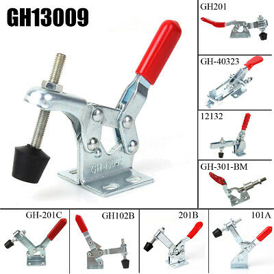 2X Holding Capacity Quick Release Horizontal U Bar Vertical Toggle Clamp 10 Type