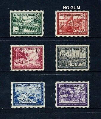 GERMANY _ 1941 'POSTAL EMPLOYEES FUND' SET of 6 _ mh ____(497)