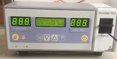 Kontron Instruments Microgas 7650 Transcutaneous Blood Gas Analyser