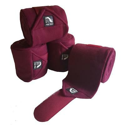 Berry Free Rein Super Soft Fleece Bandages - Matchy Matchy Horse Dressage Polo