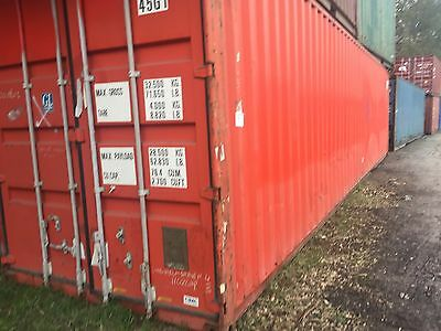 40'  High Cube B Grade Shipping Containers