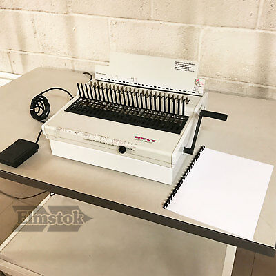 Pre-Owned Renz Combi Comfort Wire Binding Machine