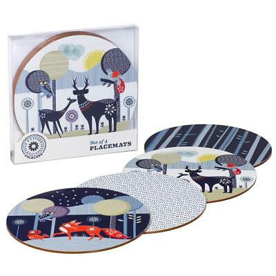 Wild & Wolf Folklore 4 Coasters Set